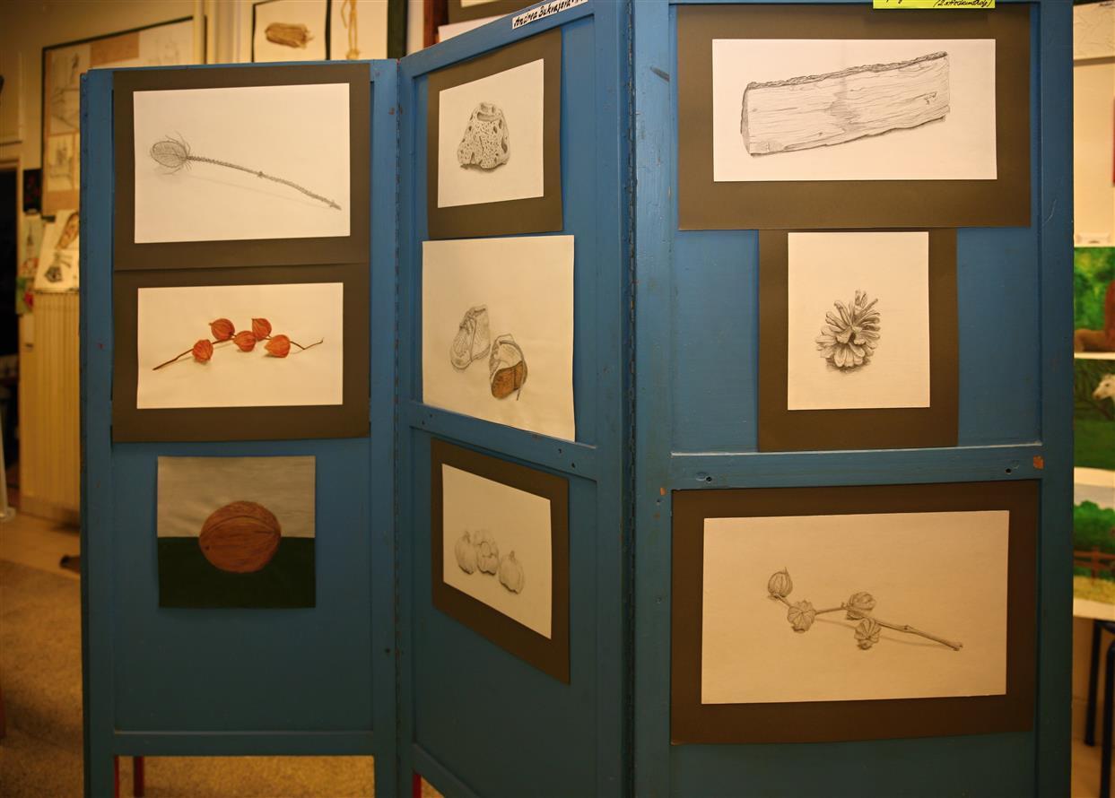 Vystava V Atelieru Kresby A Malby Praha 12